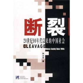 断裂:20世纪90年代以来的中国社会