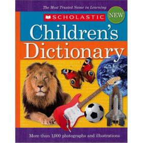Scholastic Children's Dictionary, 2010 Edition  学乐儿童英英字典 英文原版