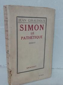 SIMONLAPAPHÉTIQUE    【法文原版 毛边本 收藏首选】1926
