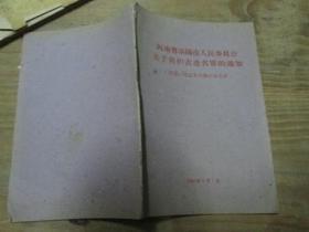 河南省洛阳市人民委员会关于保护古迹名单的通知《附第一批公布洛阳古迹名单》