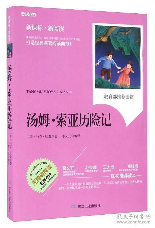 汤姆·索亚历险记(无障碍阅读 新课标新阅读)