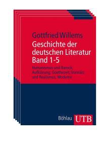 德文 德语 德意志文学史 全套5册 Geschichte der deutschen Literatur Band 1-5: Humanismus und Barock; Aufklärung; Goethezeit; Vormärz und Realismus; Moderne