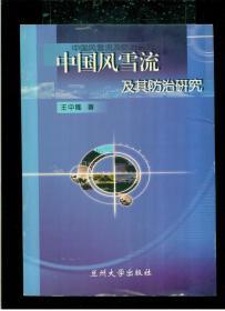 《中国风雪流及其防治研究》(16开平装 231页 仅印1000册)九品 库存未阅