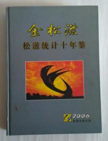 金松滋 松滋统计十年鉴(1997——2006)