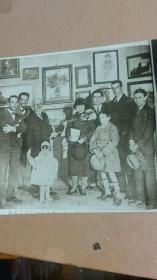 潘玉良女毕业及展览作品受意大利政府奖励照片一张
