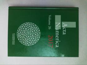 Acta Numerica 2017: Volume 26 数学数值学术论文原版
