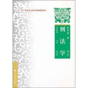 刑法学 第三版 阮齐林 中国政法大学出版社 9787562040279