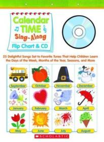 Sing-Along Flip Chart and CD: Calendar Time