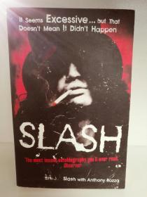 Anthony Slash:Slash The Autobiography (歌手) 英文原版书