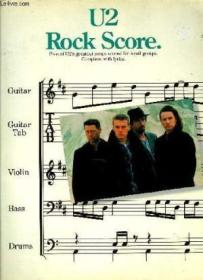 U2 Rock Score: Five Of U2s Greatest Songs Scored For Small Groups