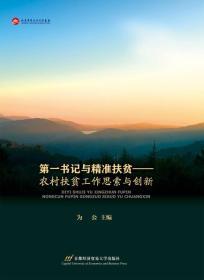 第一书记与精准扶贫:农村扶贫工作反思与创新