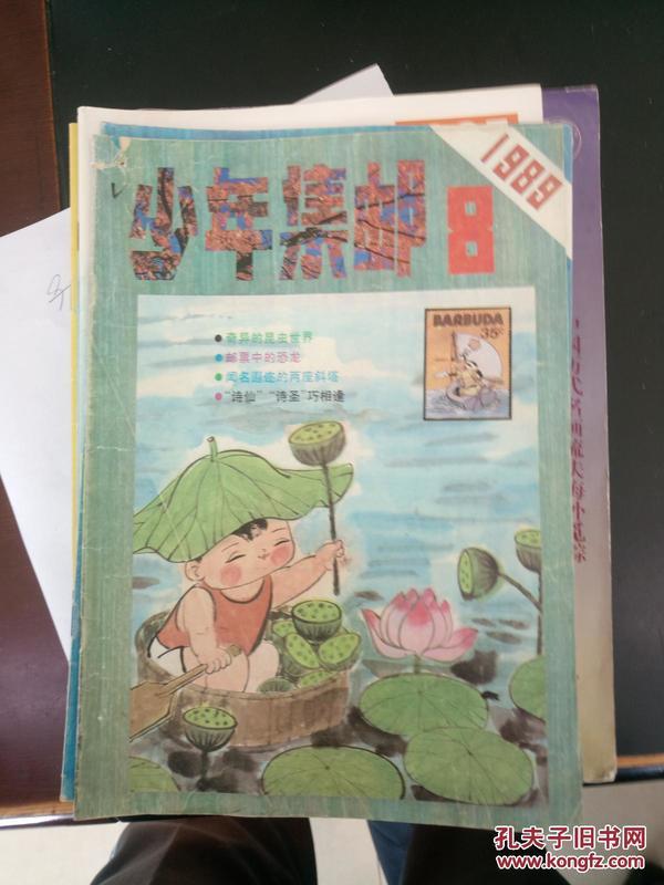 少年集邮1989.8