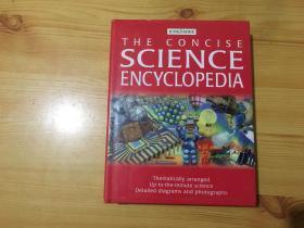 英文原装全彩插图 the concise science encyclopedia 简明科学百科全书
