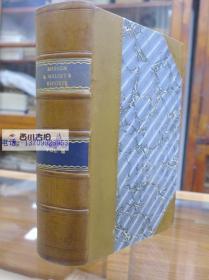 1849年牛皮装 品好 MEESON $ WELSBUS REPORTS  VOL16 REPORTS OF CASES  ARGUED AND DETERMINED IN THE  JUDGES OF THE COURT OF EXCHEQUER DURING THE PERIOD COMPRISED IN THIS VOLUME梅森-韦尔斯布报道第16卷