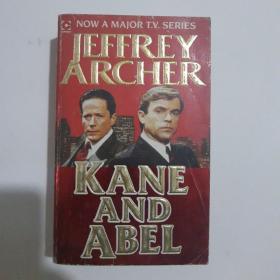 Kane and Abel 凯恩与阿贝尔 英文原版