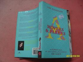 英文原版:MOVERS AND FAKERS       AN ALPHAS NOVEL