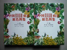 中国粮食作物、经济作物、药用植物病虫原色图鉴 上下册 第三版(无公害新版)【重2.9公斤 正版新书 精装本】