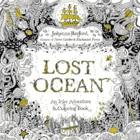 Lost Ocean:An Inky Adventure and Coloring Book
