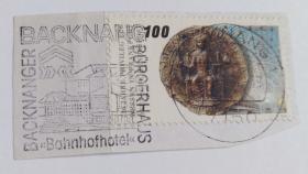 外国瑞士邮票(信销票1枚全戳)