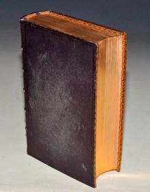1846年《神圣经典》 极品摩洛哥羊羔皮大开本限量古董书 稀世珍本 品相惊人 送礼佳品