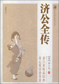 【正版全新】中国古典小说普及文库:济公全传