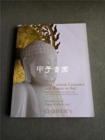 纽约佳士得 2010年3月25日 赛克勒 中国瓷器 艺术品专场拍卖图录