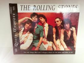 滚石乐队 The Rolling Stones Quote Unquote (乐队/歌手) 英文原版书