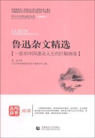 青少年经典阅读书系(名师解读):鲁迅杂文精选(一张旧中国凄凉人生的巨幅画卷)