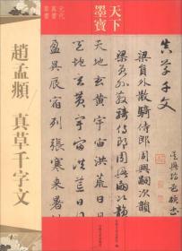 天下墨宝:赵孟頫 真草千字文