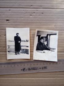 毛主席 照片 2张合售