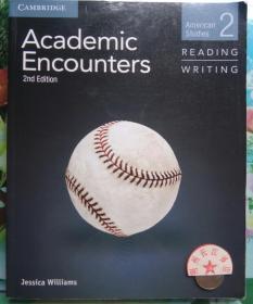 正版95新 Academic Encounters 2nd Edition Jessica William