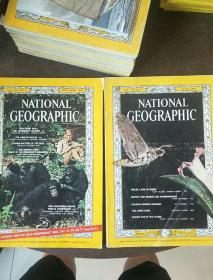 NATIONAL GEOGRAPHIC(美国国家地理英文版)1965 VOL.127,NO.6  和1965 VOL.128,NO.6(两本合售)