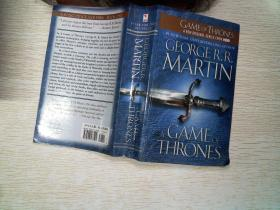 GEORGERR MARTIN A GAME OF THRONES.     有黄点