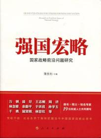 強國宏略:國家戰略前沿問題研究
