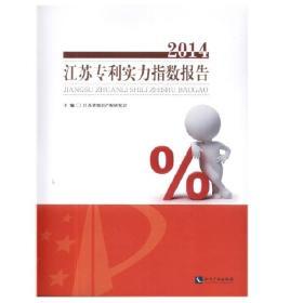 江苏专利实力指数报告(2014)