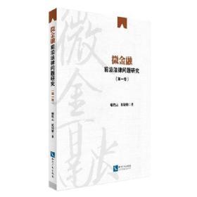微金融前沿法律问题研究(第一卷)