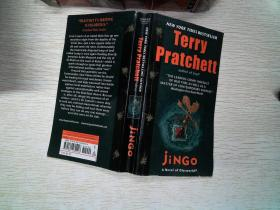 NEW YORK TIMES BESTSELLING AUTHOR Terry pratchett jiNGO
