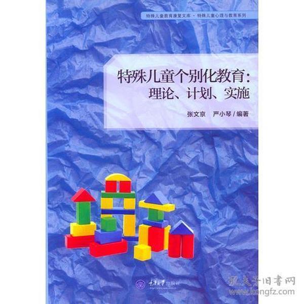 特殊儿童个别化教育:理论、计划、实施