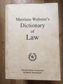 Merriam-Websters Dictionary of Law