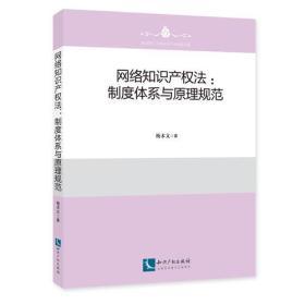 网络知识产权法:制度体系与原理规范
