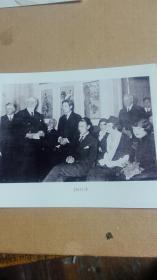 1935年在柏林举行徐悲鸿绘画展览会照片一张