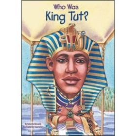 送书签ic-9780448443607- Who Was King Tut? 漫画名人传记:图特卡蒙法老