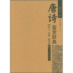 唐诗鉴赏辞典(图文本)