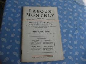 LABOUR MONTHLY  1958年第2期【月刊 】