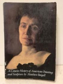 美国绘画及雕塑简史 Matthew Baigell:A Concise History of American Painting and Sculpture (美国艺术)英文原版书