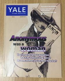 Yale Alumni Magazine Jan/Feb 2011, Vol LXXIV, No 3