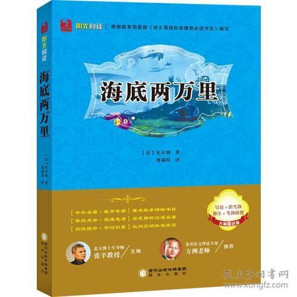 阳光阅读名著阅读课程化丛书:海底两万里