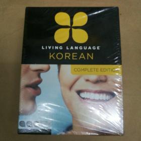 Living Language Korean Complete Edition(生活語言韓語完全版 塑封)