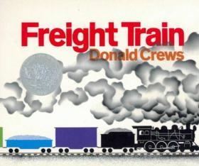 Freight Train火车白-Donald crews