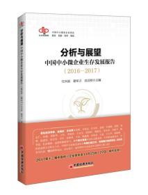 分析与展望:中国中小微企业生存发展报告 2016-2017)